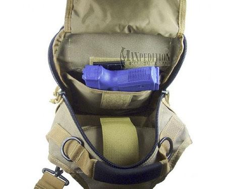 Отсек для скрытой переноски оружия в рюкзаке Maxpedition Sitka